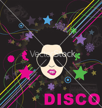 Free disco background vector - Free vector #248713