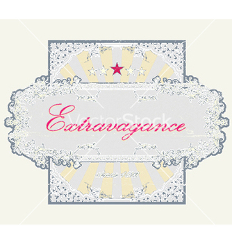 Free grunge floral label vector - Free vector #249403