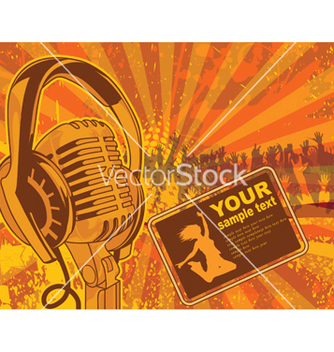 Free concert poster vector - Free vector #249723