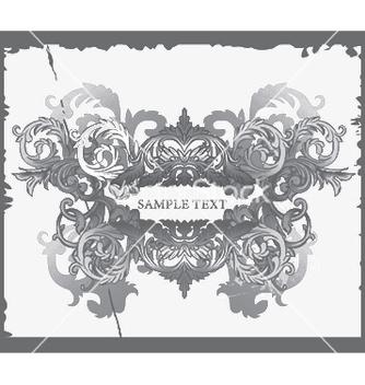Free baroque floral vector - Free vector #249773