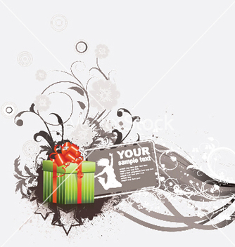 Free gift box vector - Free vector #250323