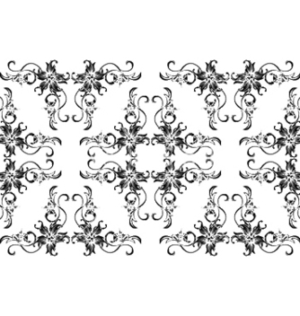 Free seamless floral pattern vector - Free vector #250503