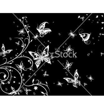 Free spring floral background vector - Free vector #250753