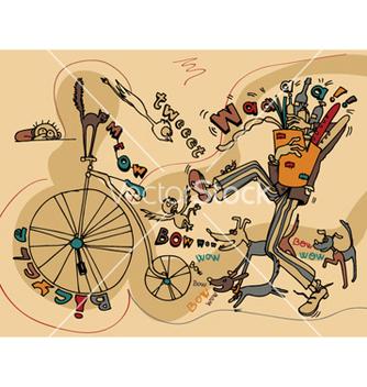 Free funny doodles vector - Kostenloses vector #250803