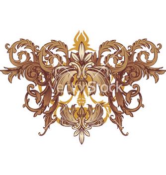 Free vintage floral vector - Kostenloses vector #251063