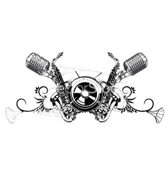 Free vintage music tshirt design vector - Kostenloses vector #251393