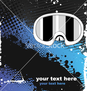 Free winter sports background vector - Free vector #252073