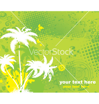 Free summer floral background vector - Free vector #252493