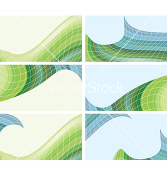 Free abstract backgrounds set vector - Kostenloses vector #252853