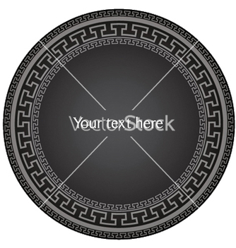 Free antique greek frame vector - Kostenloses vector #253323