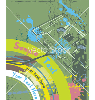 Free concert poster with cassette vector - Free vector #253383