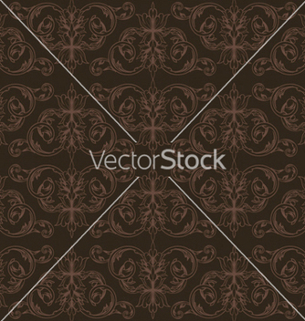 Free seamless floral background vector - Free vector #253993