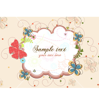 Free colorful abstract frame vector - Free vector #254093