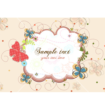 Free colorful abstract frame vector - vector #254093 gratis