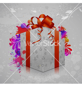 Free gift box vector - Kostenloses vector #254103