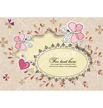 Free floral frame vector - Kostenloses vector #254123