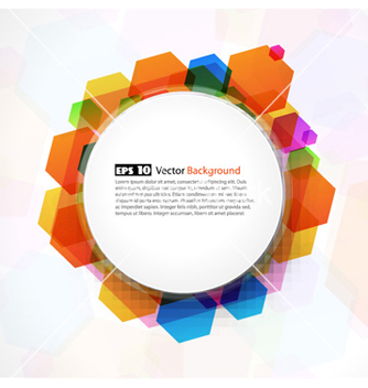 Free abstract colorful frame vector - Free vector #254573