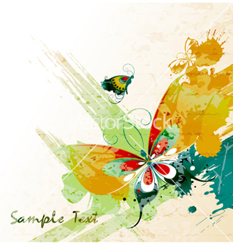 Free watercolor background vector - бесплатный vector #254793