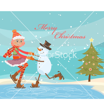 Free christmas background vector - бесплатный vector #254933