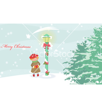 Free winter background vector - Free vector #254973