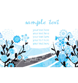 Free watercolor greeting card vector - Free vector #255143