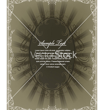 Free vintage frame vector - Free vector #255163