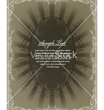 Free vintage frame vector - Kostenloses vector #255163