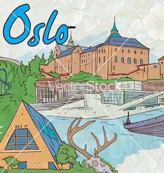 Free oslo doodles vector - Free vector #255463