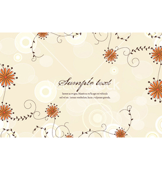 Free colorful floral vector - Kostenloses vector #255513