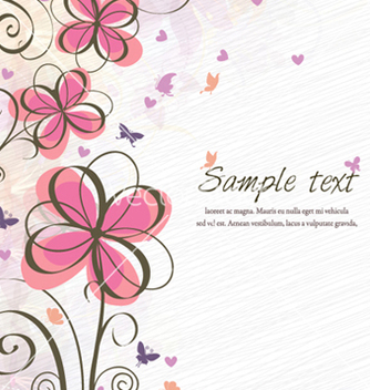 Free spring floral background vector - Free vector #255693
