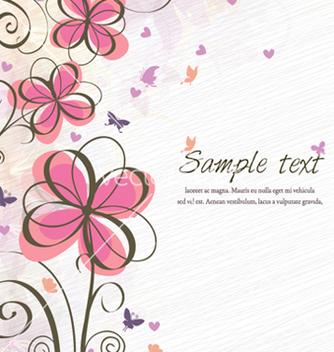 Free spring floral background vector - Kostenloses vector #255693