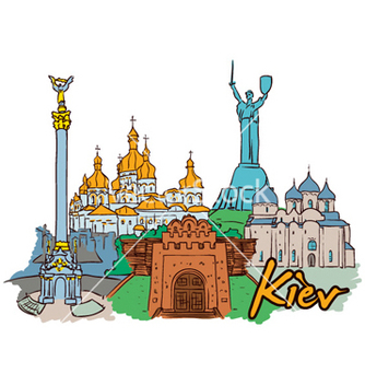 Free kiev doodles vector - vector #255703 gratis