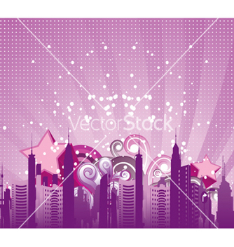 Free urban background vector - Free vector #255953