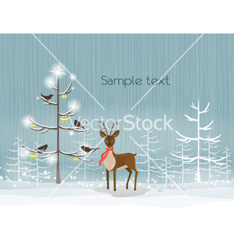Free christmas background vector - Free vector #256073