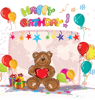 Free kids birthday party vector - Free vector #256113
