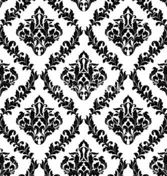 Free damask seamless pattern vector - Free vector #256223