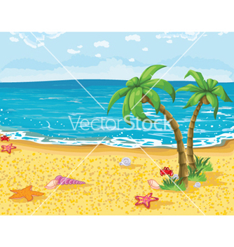 Free summer background vector - Free vector #256473