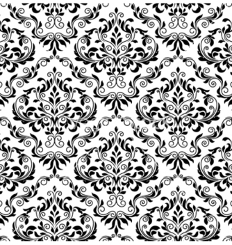 Free damask seamless pattern vector - Kostenloses vector #256563