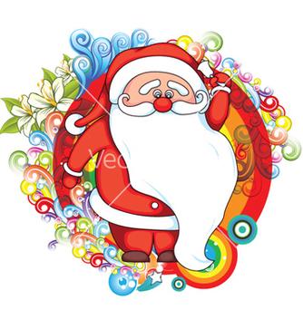 Free christmas greeting card vector - vector #256573 gratis