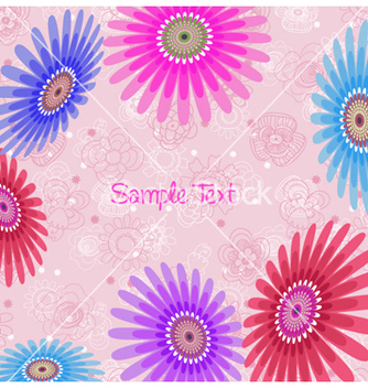 Free spring floral background vector - Free vector #257273