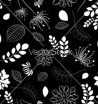 Free floral seamless pattern vector - Free vector #257473