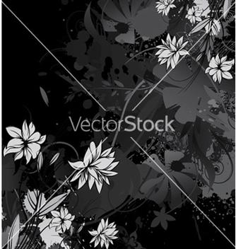 Free vintage floral background vector - Free vector #257533