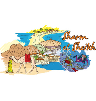 Free sharm el sheikh doodles vector - vector #257733 gratis