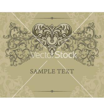 Free vintage floral background vector - Free vector #257753