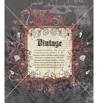 Free vintage frame vector - Free vector #257913