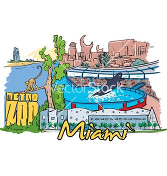Free miami doodles vector - vector #258013 gratis