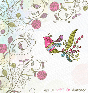 Free spring background vector - Kostenloses vector #258253
