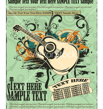Free concert poster vector - Free vector #258363