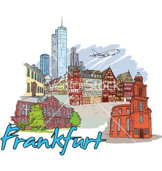 Free frankfurt doodles vector - Kostenloses vector #258703