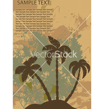 Free vintage summer background vector - Kostenloses vector #258853
